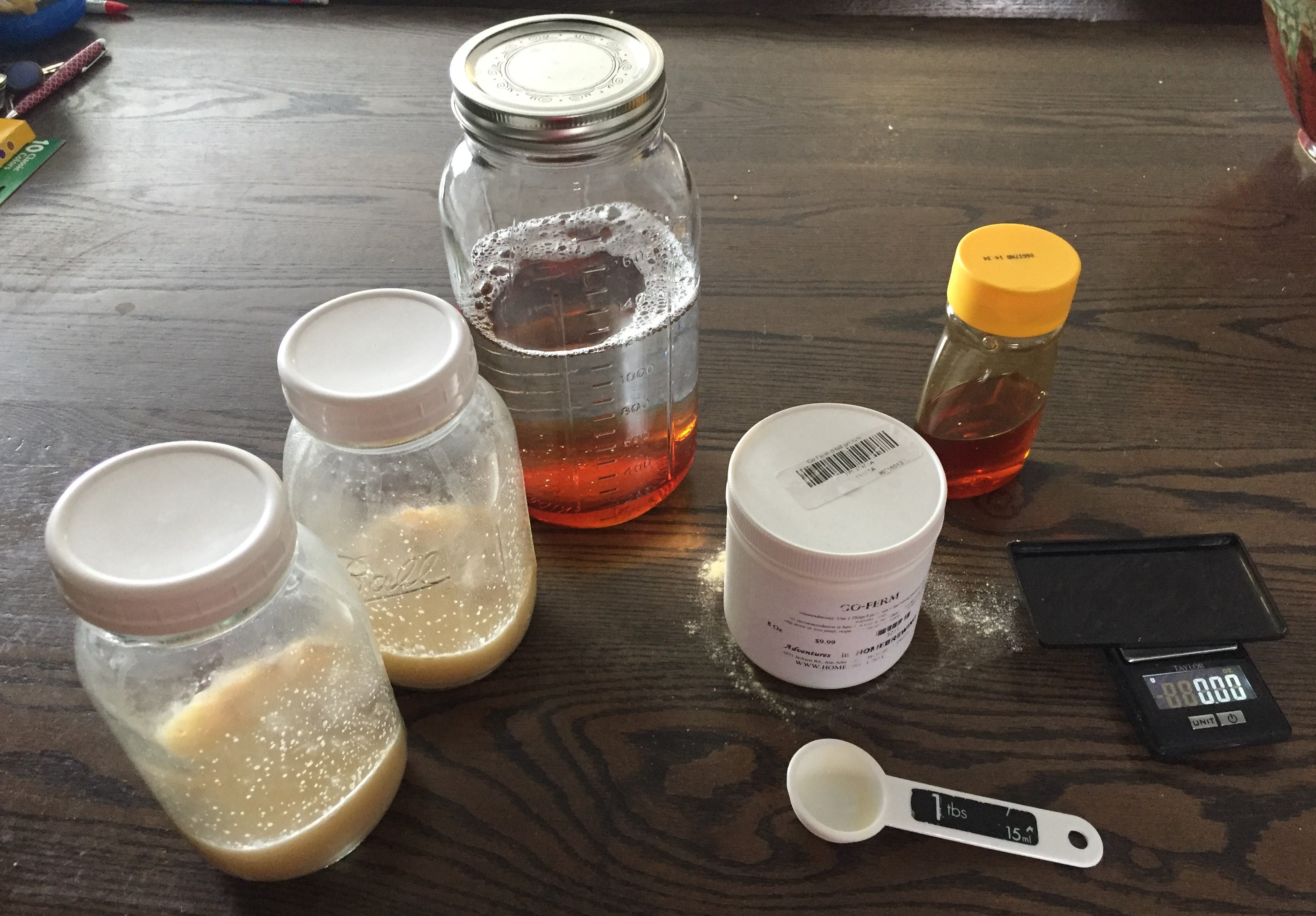 Making a Activated Yeast Starter